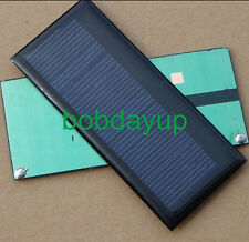 0.3W 5.5V 55mA Mini Solar Panel Module Solar System Epoxy Cell Charger DIY  B