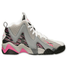Mens Reebok Kamikaze II Breast Cancer Carbon Shark Grey Pink White M43289