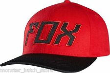 BRAND NEW WITH TAGS Fox Racing SOLICIT FlexFit Hat RED L/XL LIMITED RELEASE RARE