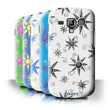 STUFF4 Back Case/Cover for Samsung Galaxy Trend Plus/S7580/Sun/Sunshine Pattern