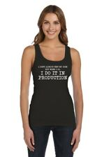 I Don't Always Test My Code - Funny Coder Programmer Women Tank Top Geek Gift