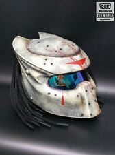 Predator Motorcycle Dot Helmet All Size SY22 Jason Friday13th Mask and Tri Laser