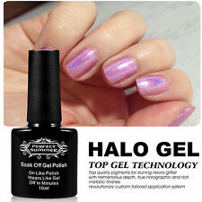 New Sparkle Halo UV Led Gel Nail Polish Glitter Color Soak Off Lacquer Varnish