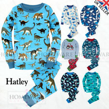 BOYS COTTON PYJAMAS - HATLEY CHILDRENS WEAR BRAND 100% COTTON SIZES 2y - 12y