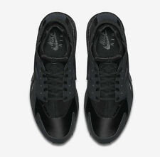 Nike Air Huarache ''Black Out''  Women's Trainers All Size 3 4 5 6 7 8 9
