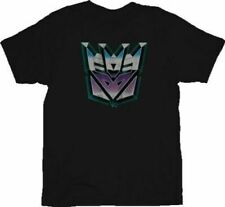 Transformers Evil Decepticon Colored Face T-shirt Tee