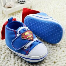 super Baby Boy Girl Toddle infant Soft Sole Crib Shoes sneaker Size 0-18 Months[