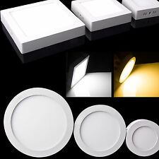 Dimmable 9w 15w 21w Led Panel Down Light Recessed Ceiling Warm Cool Lamp+Driver