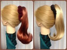 BRITNEY MONA LISA clip on PONYTAIL HAIRPIECE  reversible  CHOICE of 35 COLORS