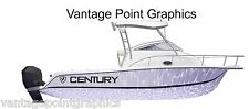 CENTURY Logo Decal- Mako, Maxum, Wellcraft and others available