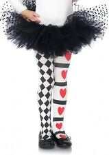 Harlequin Heart Child Tights