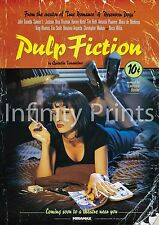 Pulp Fiction Movie Film Poster A3 A4