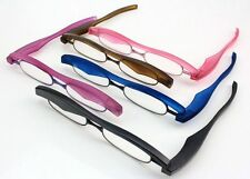Mini Reading Glasses Folding Slim Eyeglass Spectacle +1.50 +2.00 +2.50 +3.00 New