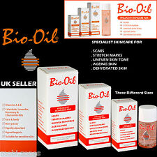 NEW100% ORIGINALE BIO-OIL OLIO PER LA PELLE DIVERSE DIMENSIONI 60ml, 125, 200ml