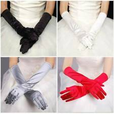 Satin Long Gloves Opera Wedding Bridal Evening Party Costume GLOVES Hot
