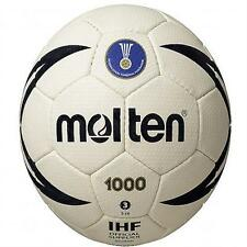 Molten H1X1000 IHF Approved Easy Grip Club Hand Stitched Match Rubber Handball