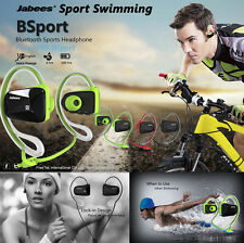 Waterproof Swimming Bluetooth 4.1 Wireless Sport Stereo Headset Headphone Earbud