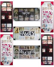 APERTURE MULTI COLOUR MULTI SIZE PHOTO PICTURE FRAME WALL HANG FAMILY MEMORY NEW