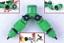 Garden Hose  1 / 2 Way Adapter Y Tap Connector Fitting Switch For Irrigation Q