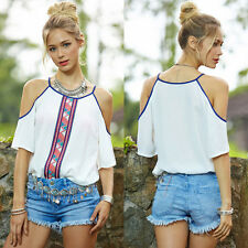 New Women Sleeveless Vest Tank Chiffon Tops Fashion Blouse Shirt T-Shirt