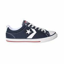 CONVERSE All Star Player EV OX Kids Trainer - Navy Blue