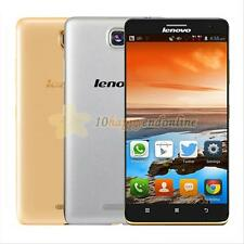 """New Lenovo S856 Gold 5.5"""" IPS HD Dual SIM Quad Core 4G LTE Android Smartphone"""