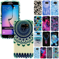 For Samsung Galaxy S6 G920 Image Design SNAP ON Protector Hard Case Cover