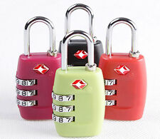 Security 3 Combination Travel Suitcase Luggage Bag Code Lock Padlock For TSA
