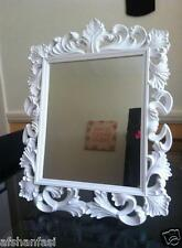 VINTAGE ORNATE DRESSING TABLE WALL MIRROR GIRLS ROOM 2 IN 1 VANITY WALL MIRROR