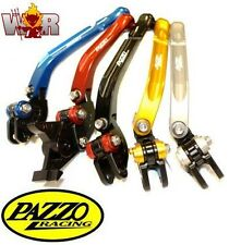 KAWASAKI ZX10R 04-05  PAZZO RACING FOLDING LeverSet ANY Color&Length Combo