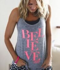 **NEW**LORNA JANE** grey tank top - sz XS, S, M, L