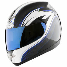 Reevu MSX1-R Blue graphic Motorcycle Helmets Dot Ece all sizes