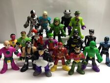 IMAGINEXT AND MARVEL ACTION FIGURES SUPER HERO flash joker batman robin penguin