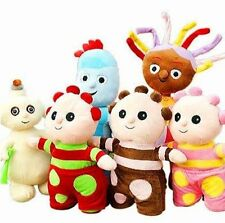 6 PCS LARGE IN THE NIGHT GARDEN SOFT DOLL PLUSH BEAR KIDS BABY TOY WITH SOUND