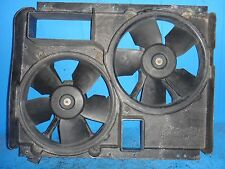 1992 C4 CORVETTE RADIATOR FAN SHROUD WITH DUAL COOLING FANS 1990-1996 CORVETTE