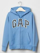 Boy GAP Hoodie Zip Sweatshirt Long Sleeve Fleece Blue Cotton 6-7(S) 12 ( XL) $34