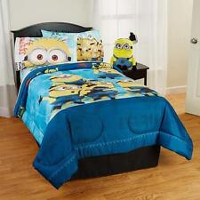 Childrens DESPICABLE ME COMFORTER SHEETS BED IN A BAG BEDDING SET TWIN FULL