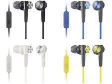 New!! SONY MDR-XB50AP Extra Bass (XB) Earphones with Remote Control Microphone