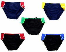 Nike Mens Boys Youth Team Competition Color Block Brief Wear Swimsuit TESS0048