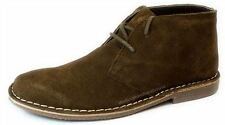 Red Tape Gobi Suede Brown Lace Up Desert Boots Mens