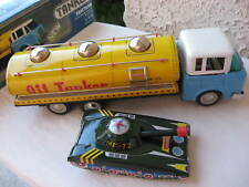 TANKER OIL NEW MF2011960 VINTAGE FRICTION WITH SOUND EFFECTS LITHO CHINA TIN TOY