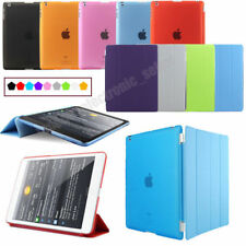 For Apple iPad 4,iPad 3/2 Smart Cover Skin Case and Crystal Clear Hard Back Case