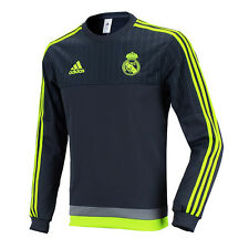 Adidas Men's Real Madrid Training Sweat Top Shirts S88891 WITH Free Tracking