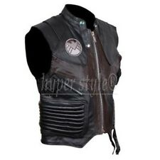 Hawkeye The Avengers Faux / Synthetic Leather Vest - All Sizes Available