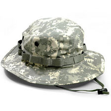 NWT US Army Military ACU DIGITAL Boonie Hat Sun Cap Authentic AR 670-1 Approved