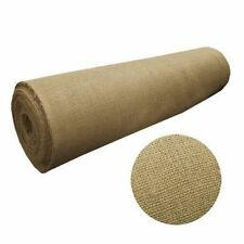 """100 Yards Burlap Fabric 40"""" Wide 100% Natural Jute Heavy Upholstery Decorations"""