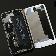 New Rear Glass Complete Battery Back Door Cover Case For Apple iPhone 4 4s