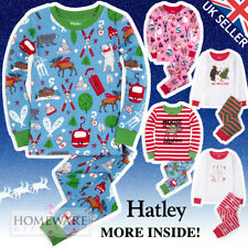 BOYS GIRLS CHRISTMAS PYJAMAS HATLEY CHILDRENS XMAS PJ'S COTTON SIZES 2-12 YEARS