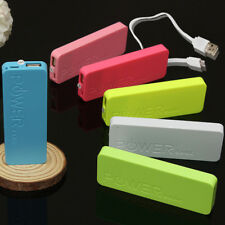 Power Bank 5600mAh Box Thin USB External Battery Recharger For Mobile Phone Slim