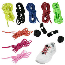 New Elastic Shoe Laces with Lock -DISABLED Triathlon Running Sports Cycling Kids